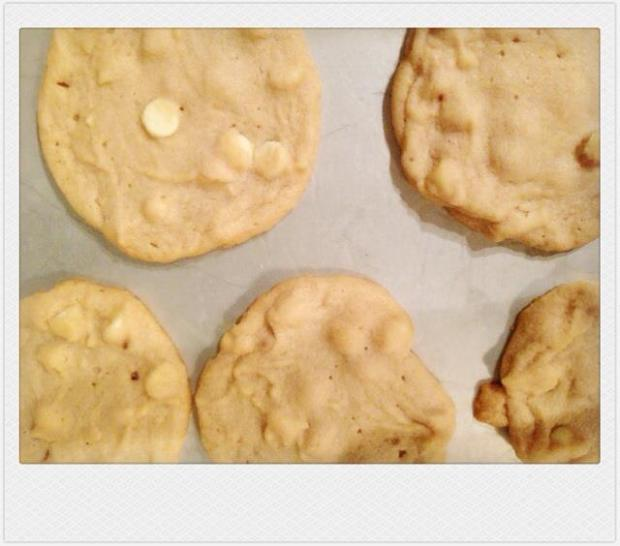 Peanute butter white chocolate