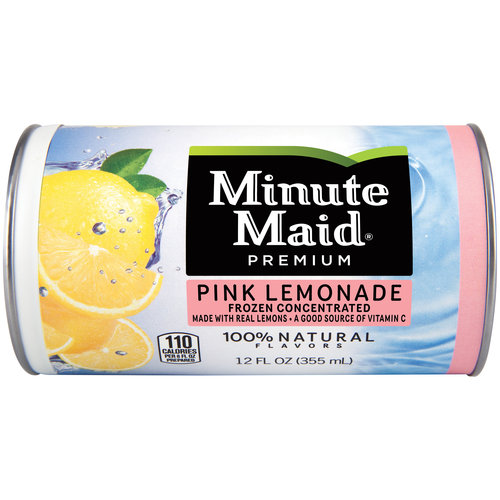 pink lemonade minutemaid