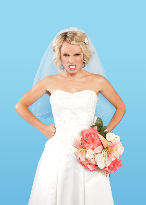 pissed bride