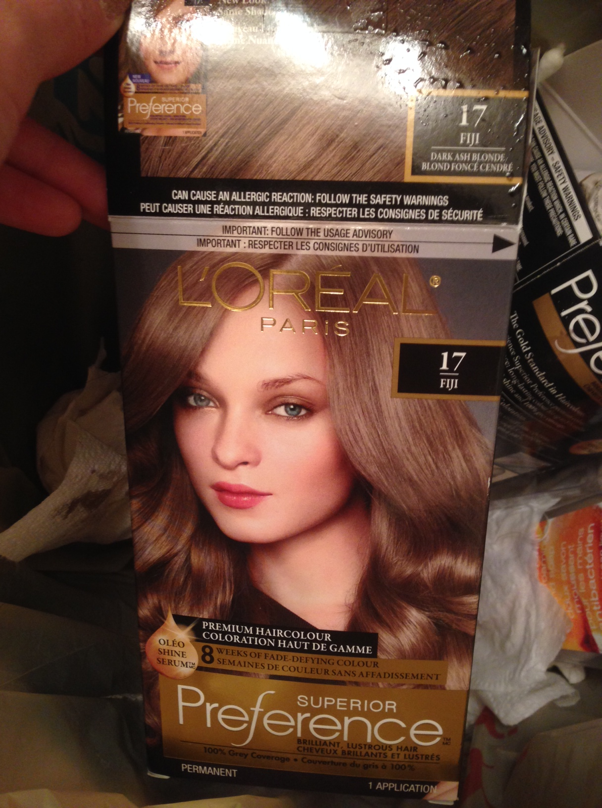 I Dyed My Hair 17fiji Dark Ash Blonde By Superior Preference